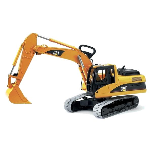 игрушка наша игрушка экскаватор снегоуборочный 6655 6 Игрушка Bruder CAT Экскаватор гусеничный 02-438