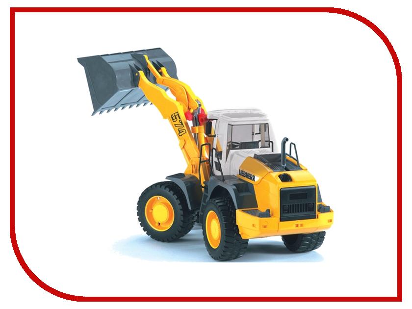Купить Игрушка Bruder Liebherr L574 погрузчик колёсный с ковшом 02-430, Германия