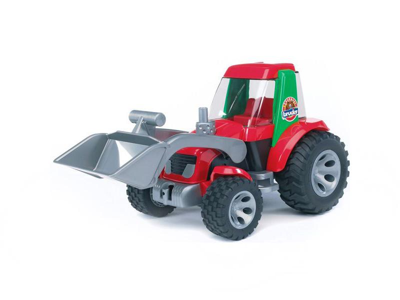 игрушка наша игрушка погрузчик вилочный 6655 7 Игрушка Bruder Roadmax Трактор погрузчик 20-102