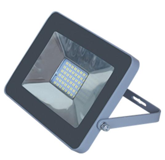 спот tokyo 20068 4 led белый 20w Прожектор Ecola Projector LED 20W 220V 2800K IP65 Silver-Grey JPSW20ELB