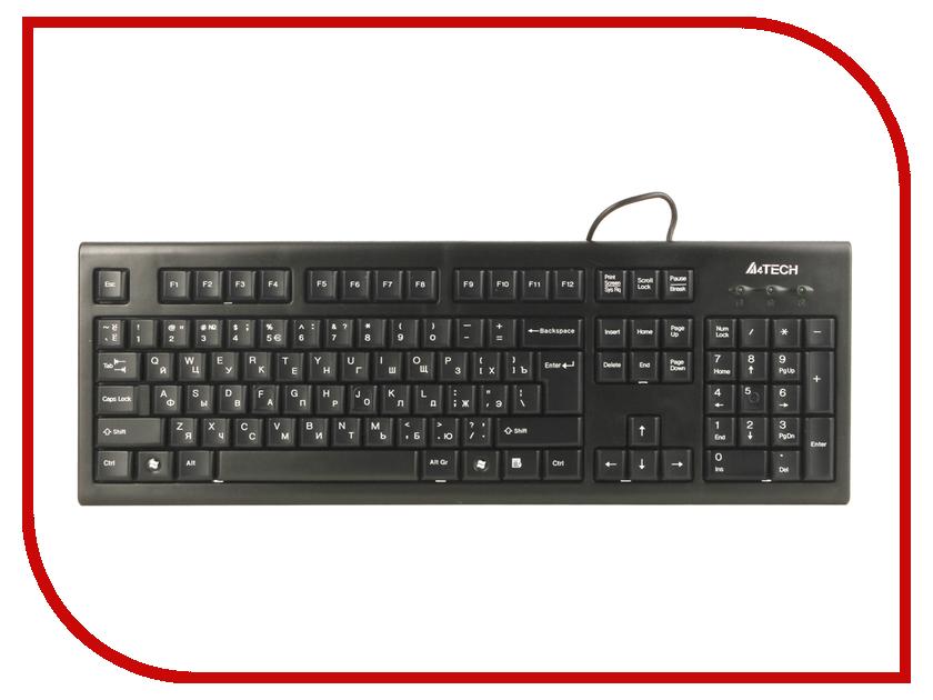 Купить Клавиатура A4Tech KR-85 Black USB
