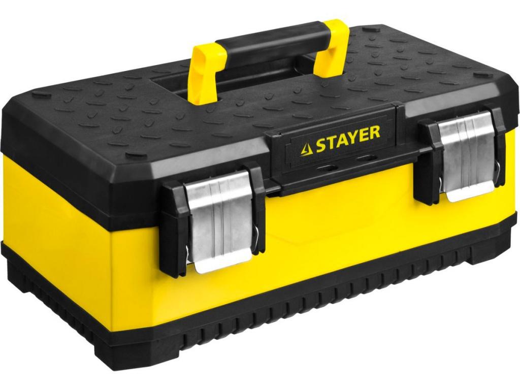 набор отверток stayer professional 25134 h18  z01 Ящик для инструментов Stayer Professional 2-38011-18_z01