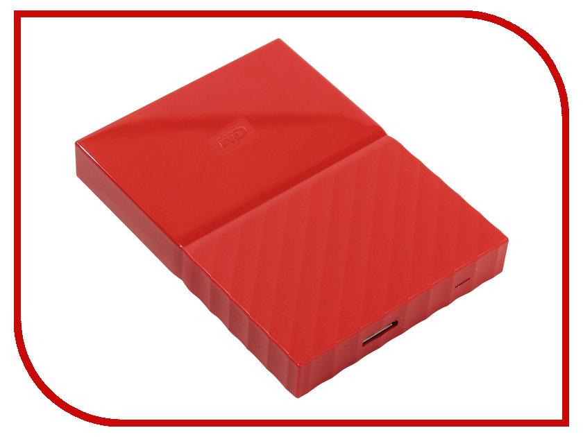 Купить Жесткий диск Western Digital My Passport 1Tb Red WDBBEX0010BRD-EEUE