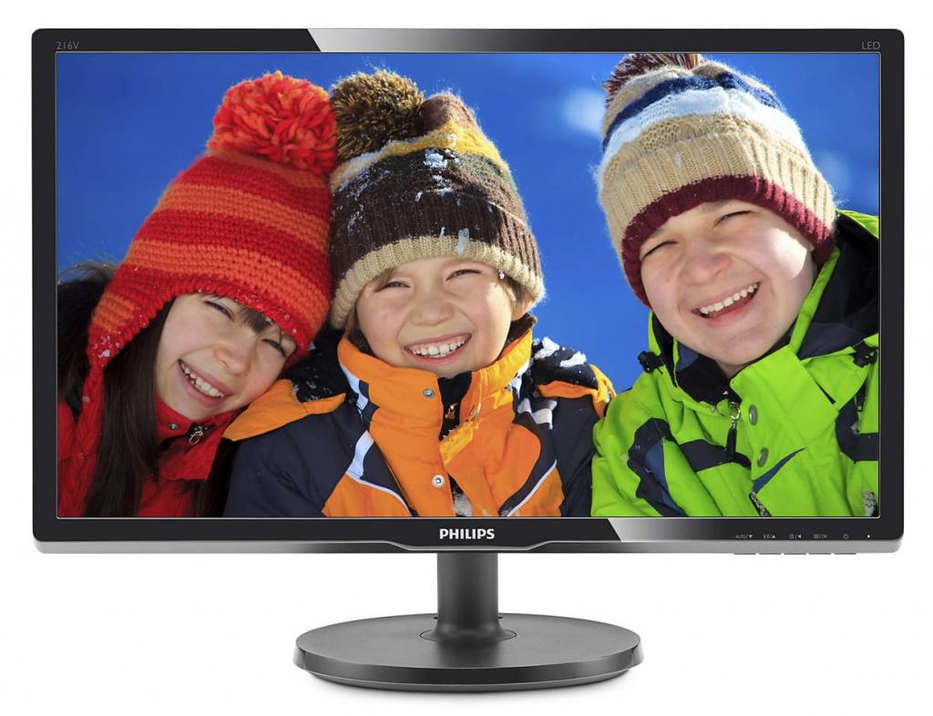 Купить Монитор Philips 216V6LSB2/62 Black