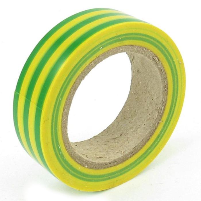 Изолента Rexant 15mm х 10m Yellow-Green 09-2007