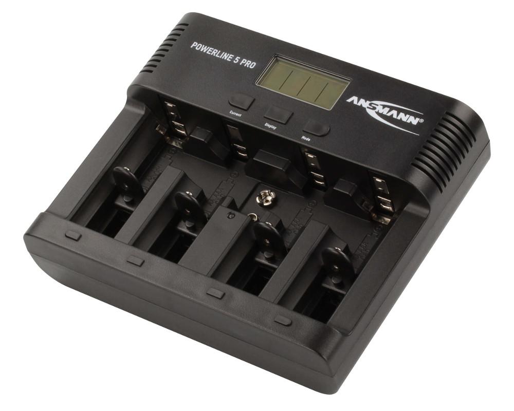 набор отверток stayer profi electro 25145 h6 z01 Зарядное устройство Ansmann Powerline 5 Pro BL1 1001-0018