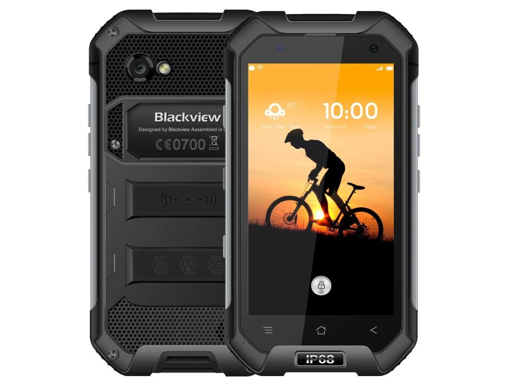 4020101 телефон Сотовый телефон Blackview BV6000s Black-Violet