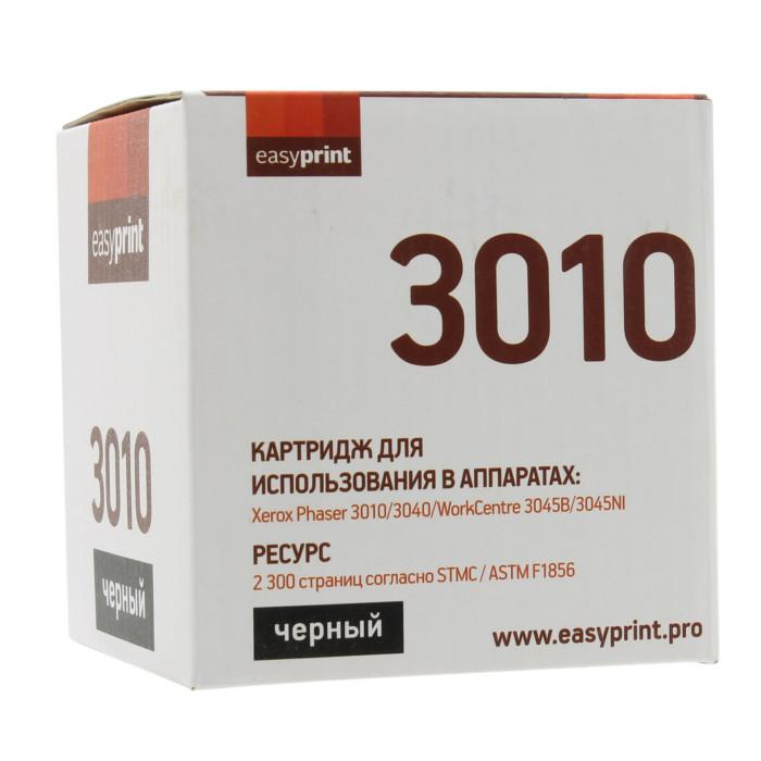 Картридж EasyPrint LX-3010 для Xerox Phaser 3010/3040/WorkCentre 3045B/3045NI/R02183 с чипом картридж easyprint lx 3610 для xerox phaser 3610n 3610dn workcentre 3615dn с чипом