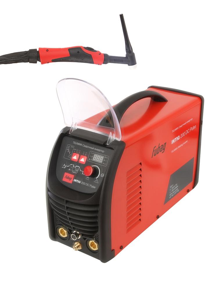 сварочный аппарат brima tig 200 ac dc Сварочный аппарат Fubag Intig 200 DC PULSE с горелкой FB TIG 26 5P