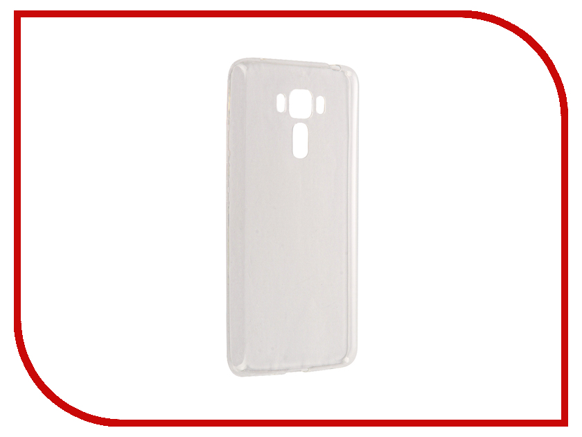 Купить Аксессуар Чехол Brosco для ASUS ZenFone 3 Laser ZC551KL Silicone Transparent AS-ZF3LSR-TPU-TRANSPARENT