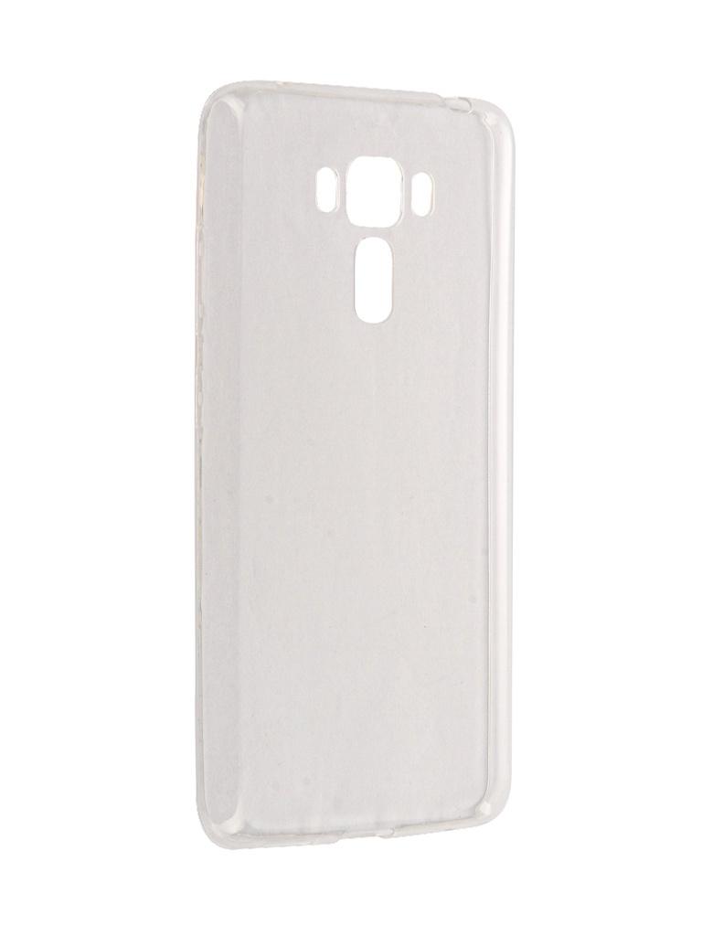 Чехол Brosco для ASUS ZenFone 3 Laser ZC551KL Silicone Transparent AS-ZF3LSR-TPU-TRANSPARENT