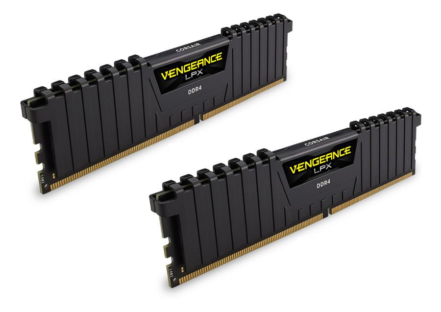 Модуль памяти Corsair Vengeance LPX DDR4 DIMM 2400MHz PC4-19200 CL16 - 8Gb KIT (2x4Gb) CMK8GX4M2A2400C16 модуль памяти corsair vengeance lpx ddr4 dimm 2400mhz pc4 19200 cl14 16gb kit 2x8gb cmk16gx4m2a2400c14
