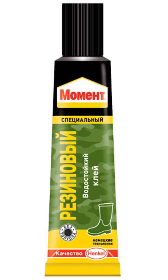 Клей Henkel Момент Резиновый 30ml 873074
