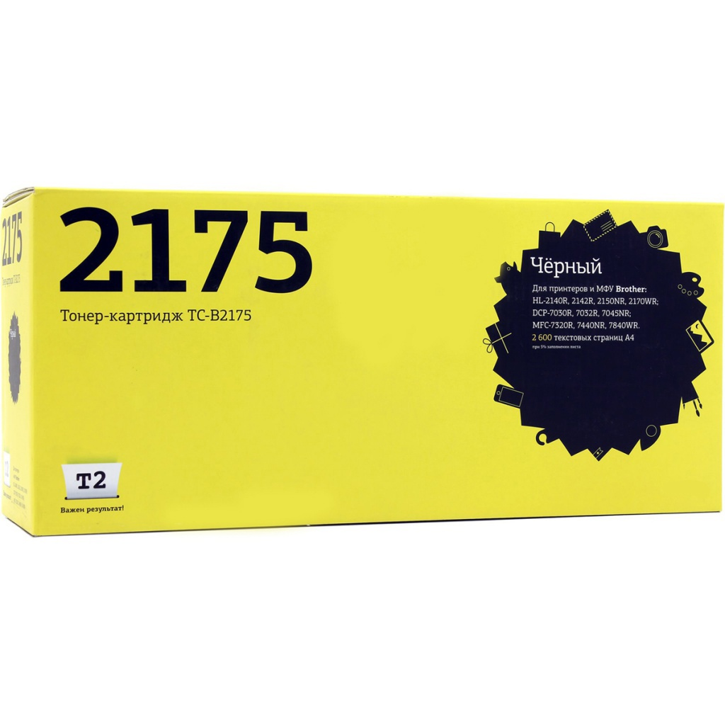 Картридж T2 TC-B2175 Black