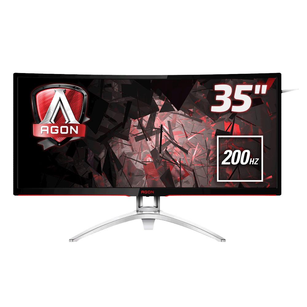 монитор aoc 27v2q black Монитор AOC AG352QCX Black