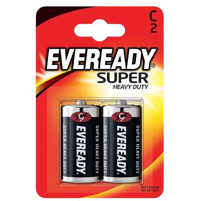 Батарейка C - Energizer Eveready Super R14 Ni-MH (2 штуки) E301155900 / 11644