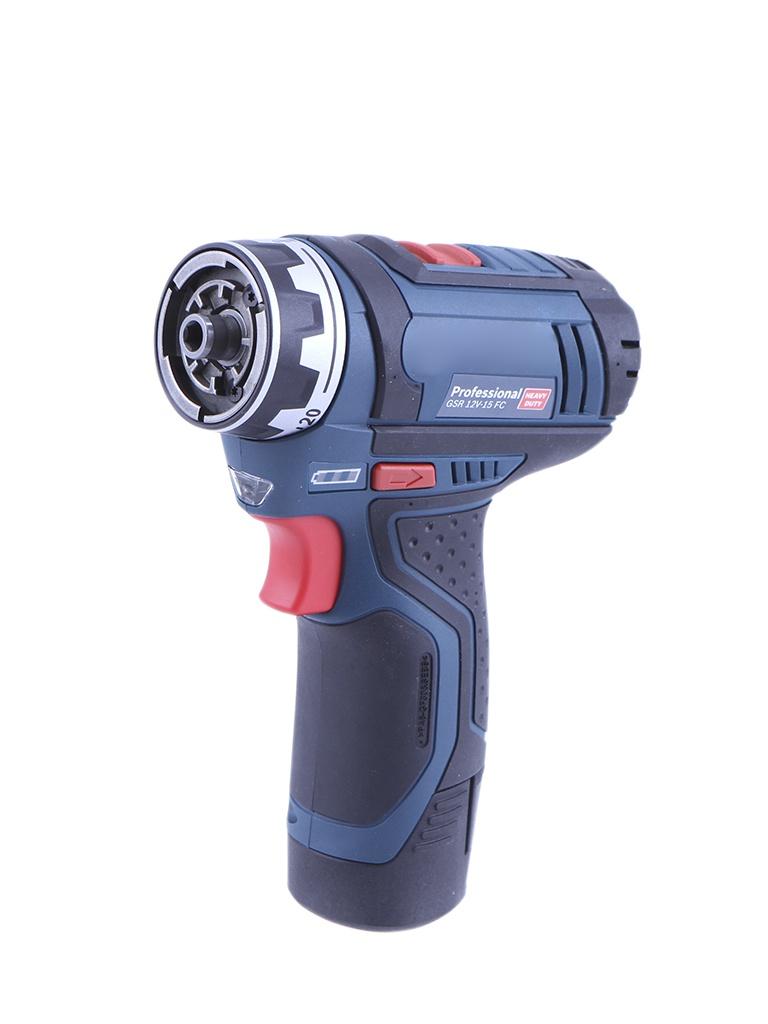 Электроинструмент Bosch GSR 12V-15 FC L-BOXX 06019F6001