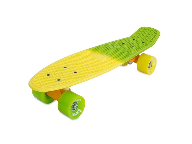 самокат larsen wave shine green Скейт Larsen Summer 2 Yellow-Green