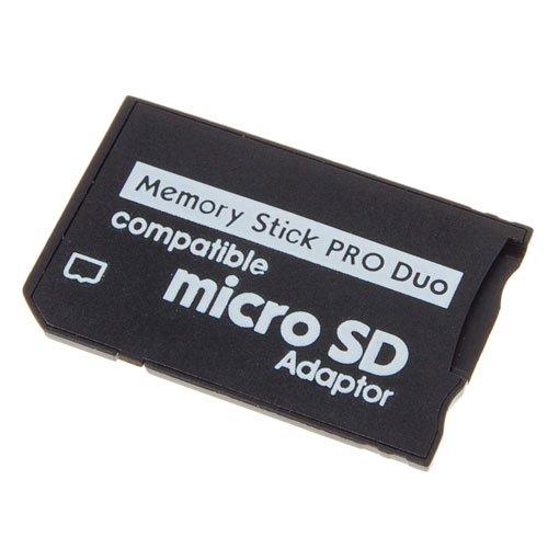 европейская вилка адаптер Карта памяти Адаптер Micro SD на Memory Stick Pro Duo