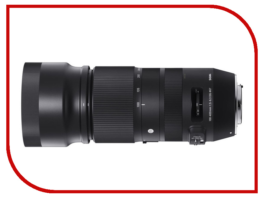 izmeritelplus.ru: Объектив Sigma 100-400mm f/5-6.3 DG OS HSM Contemporary Nikon F