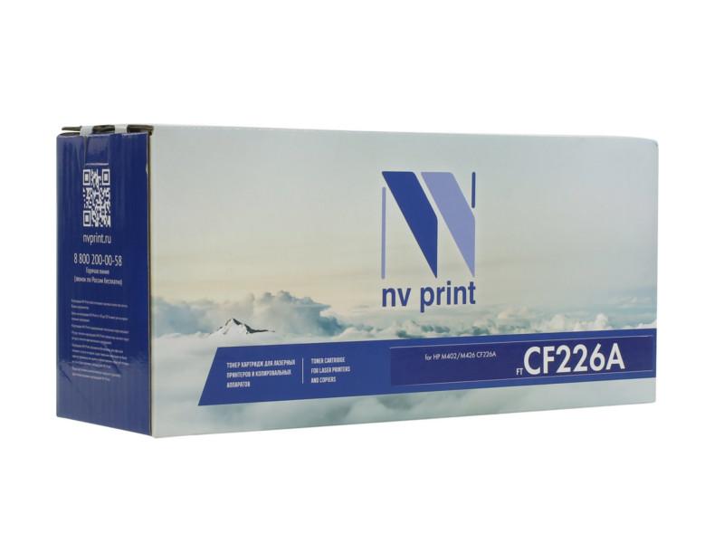 Картридж NV Print HP CF226A для LaserJet Pro M402/MFP-M426 3100k