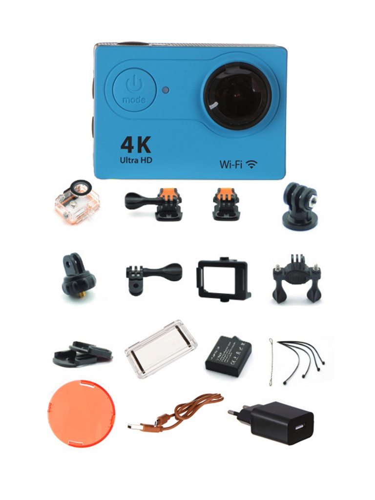 Экшн-камера Eken H9 Ultra HD Blue