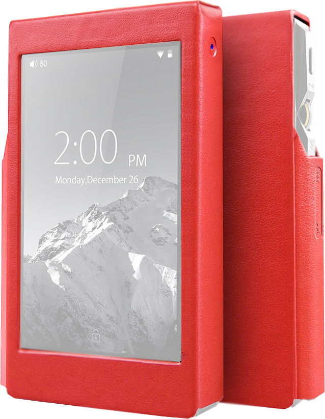 смартфон turbo x5 black 8 гб черный Чехол Fiio X5 III Red