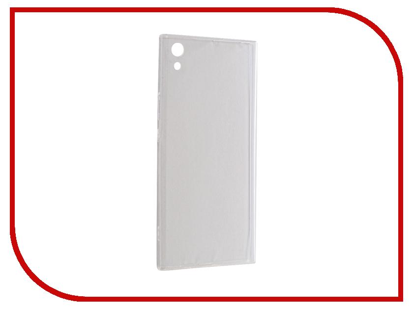 Купить Аксессуар Чехол Brosco для Sony Xperia XA1 Ultra Silicone Transparent XA1U-TPU-TRANSPARENT