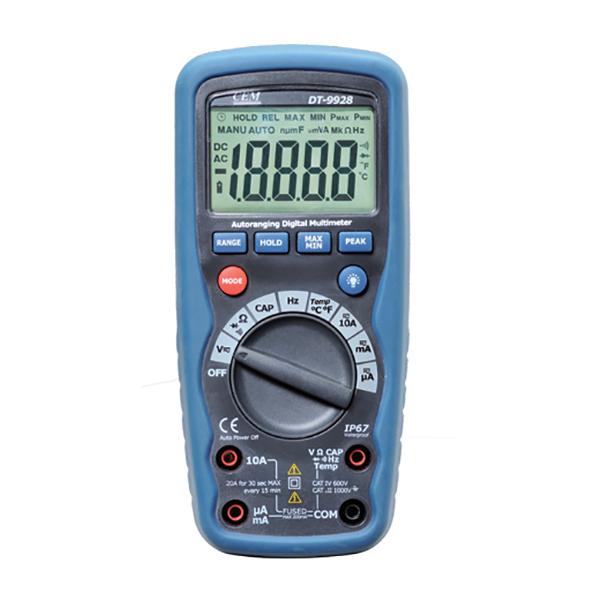 3 dt Мультиметр CEM DT-9928T