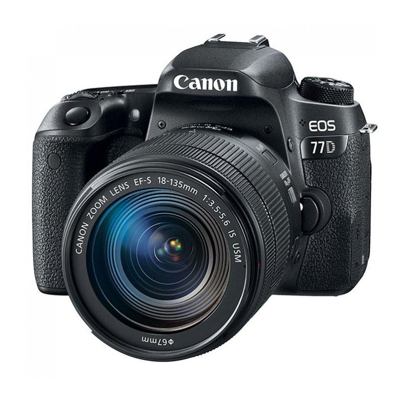 фотоаппарат canon eos 77d kit ef s 18 135 mm f 3 5 5 6 is usm Фотоаппарат Canon EOS 77D Kit EF-S 18-135 mm F/3.5-5.6 IS USM