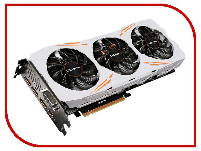Видеокарта GigaByte GeForce GTX 1080 Ti 1544Mhz PCI-E 3.0 11264Mb 11010Mhz 352 bit DVI HDMI HDCP Gaming OC GV-N108TGAMING OC-11GD