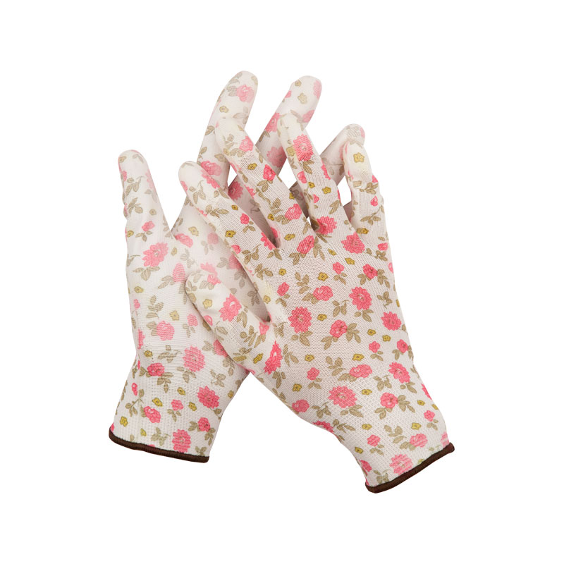 Перчатки Grinda размер S White-Pink 11291-S