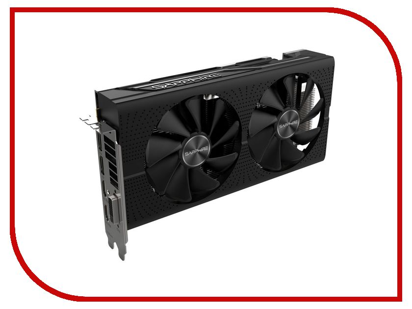 Видеокарта Sapphire Pulse Radeon RX 570 4GD5 1284Mhz PCI-E 3.0 4096Mb 7000Mhz 256 bit DVI 2xHDMI 11266-04-20G