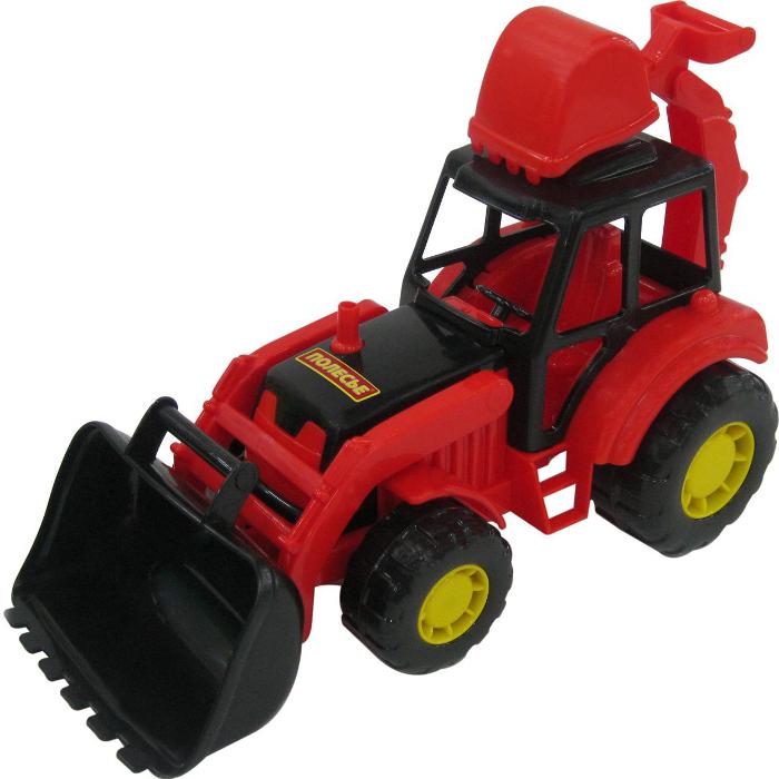 игрушка наша игрушка экскаватор снегоуборочный 6655 6 Игрушка Полесье Экскаватор Мастер 35318