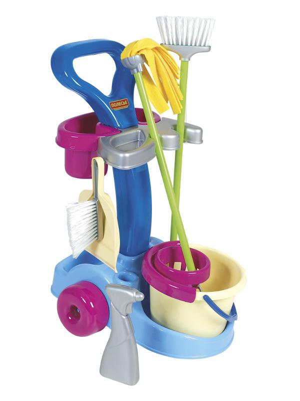 Игровой набор для уборки Полесье Чистюля 36575
