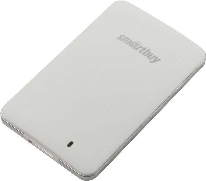 Фото - Твердотельный накопитель Smartbuy S3 128Gb USB 3.0 SB128GB-S3DW-18SU30 внешний ssd smartbuy s3 drive 128gb sb128gb s3bs 18su30