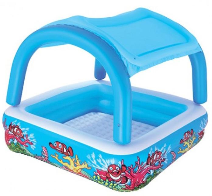Купить Детский бассейн Bestway Canopy Play 52192, Морские глубины