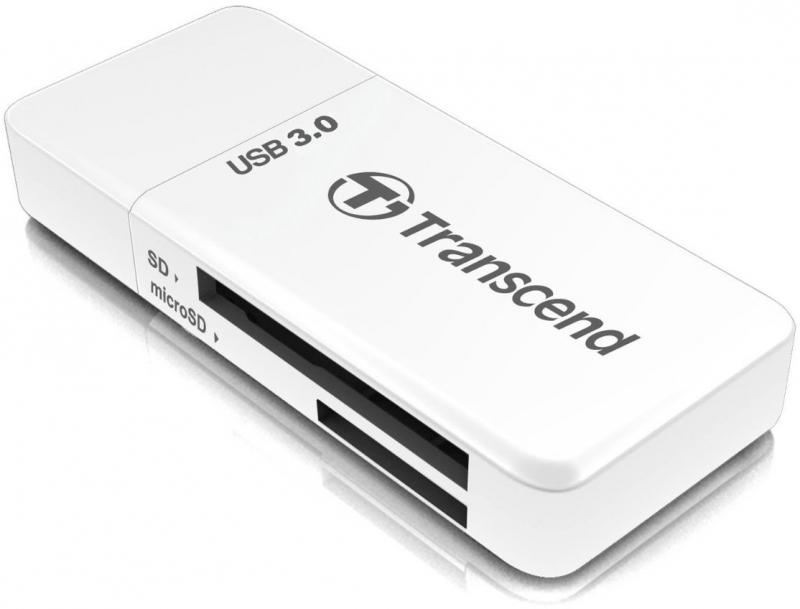 Фото - Карт-ридер Transcend Multy Card Reader USB 3.0 TS-RDF5W карт ридер kingston media reader fcr hs4