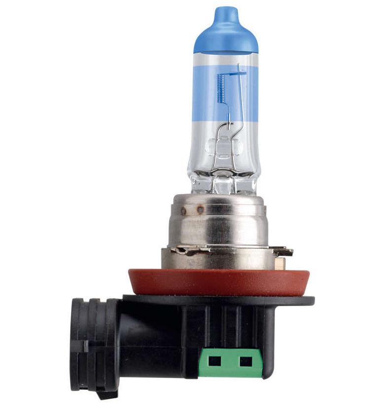 лампа osram h11 night breake silver 12v 55w pgj19 2 2шт 64211nbs hcb Лампа Philips White Vision H11 12V 55W PGJ19-2 12362WHVB1 (1 штука)