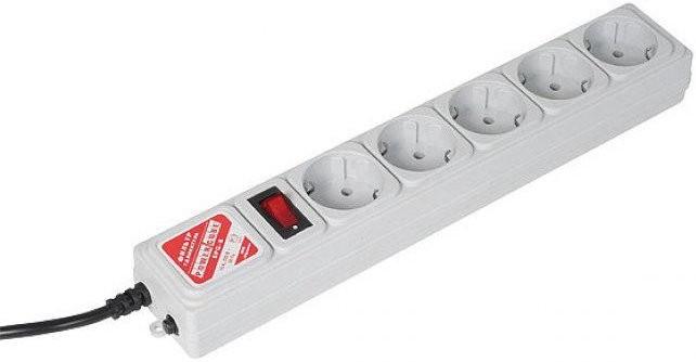 Сетевой фильтр Power Cube 5 Sockets 1.9m Grey SPG-B-6