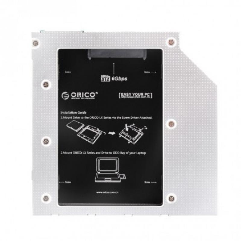 Optibay Салазки для HDD Orico 9.5mm L95SS-SV