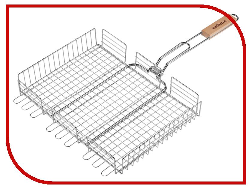 Купить Решетка-гриль Grinda Barbecue 220x220mm 424712