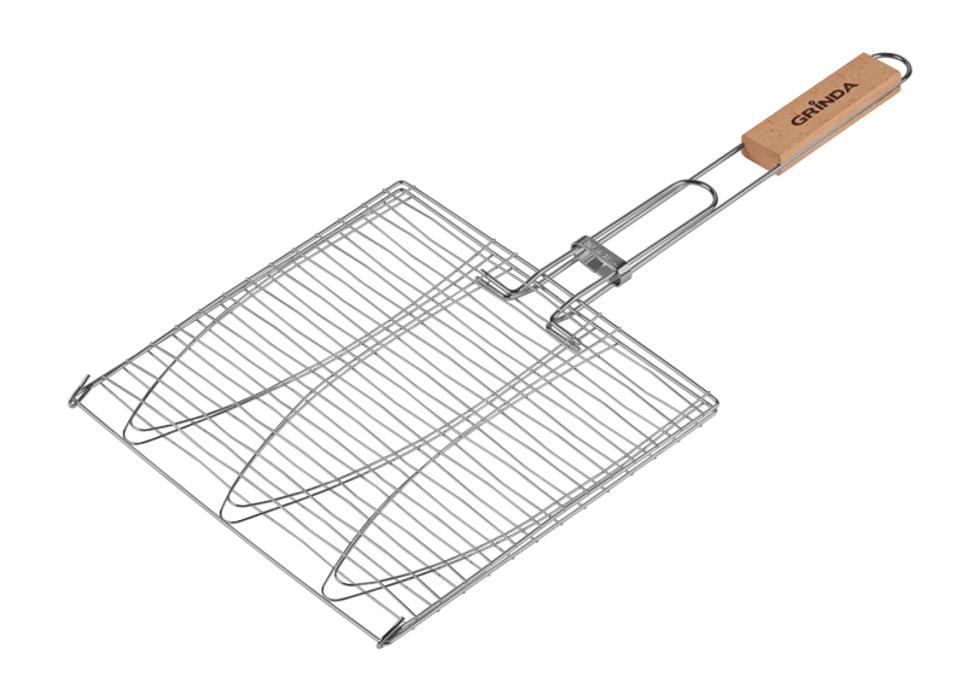 решетка гриль rosenberg складной r 440101 Решетка-гриль Grinda Barbecue 424721