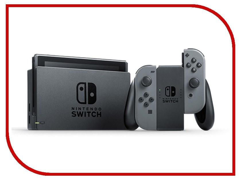 Купить Игровая приставка Nintendo Switch Grey