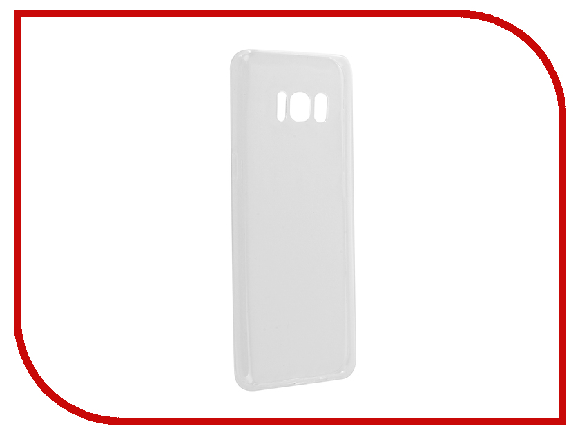 Купить Аксессуар Чехол для Samsung Galaxy S8 Brosco Transparent SS-S8-TPU-TRANSPARENT