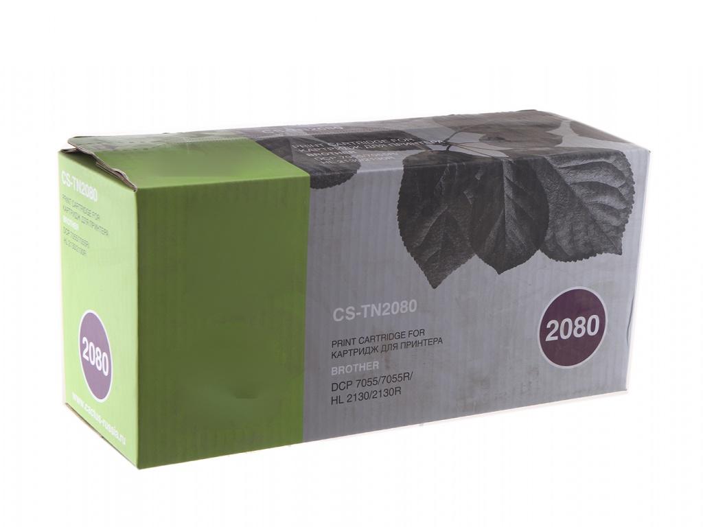Картридж Cactus CS-TN2080 Black для Brother HL-2130R/DCP-7055R