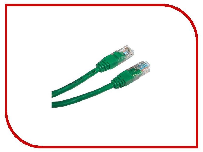 Купить Сетевой кабель ExeGate UTP cat.5e 1.5m Green 258669