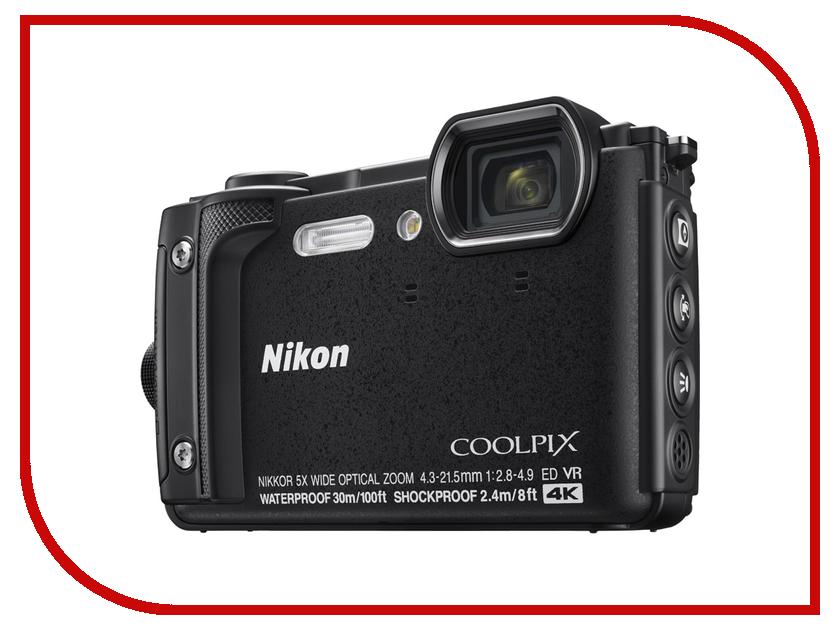 Купить Фотоаппарат Nikon Coolpix W300 Black