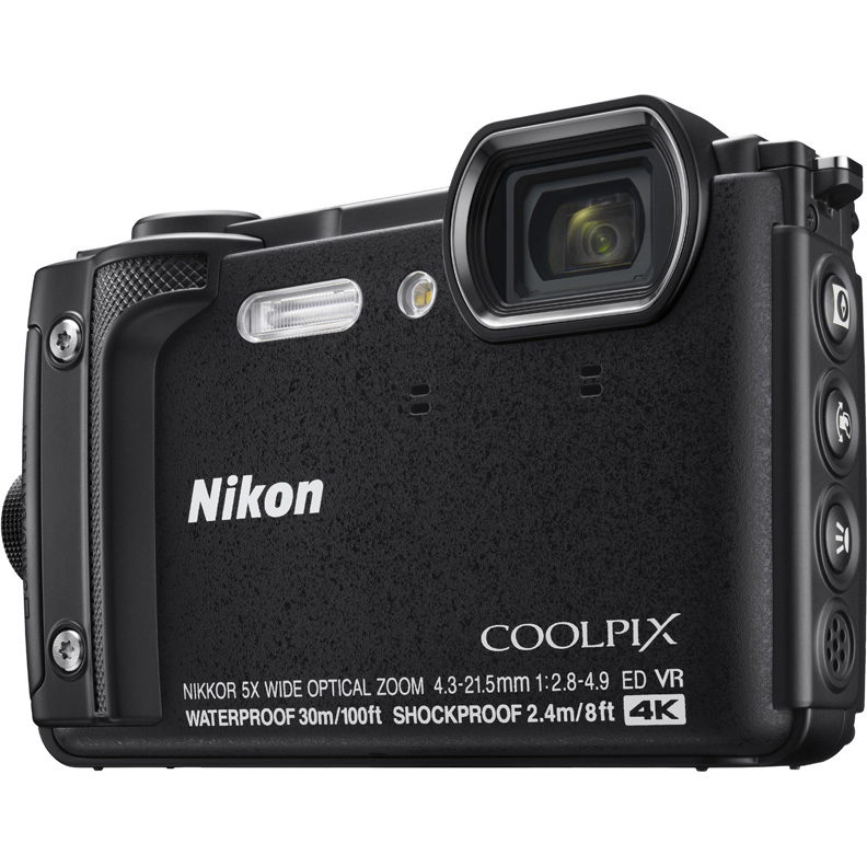 Фотоаппарат Nikon Coolpix W300 Black
