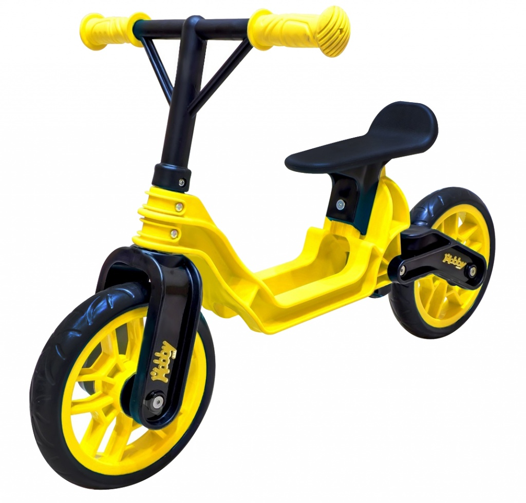 Беговел RT Hobby-bike Magestic Yellow-Black ОР503